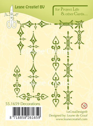 55.1659 Project Life & Cards clear stamp Decorations