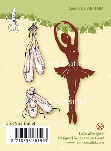 55.1963 Clear stamp Ballet