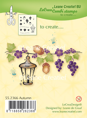 55.2366 Clear stamp Autumn