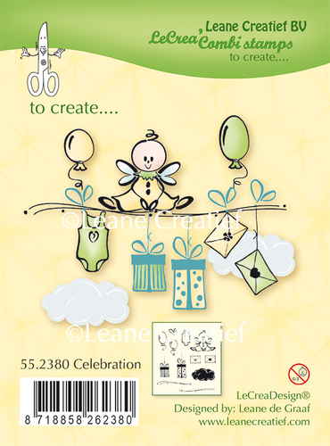 55.2380 Clear stamp Celebration