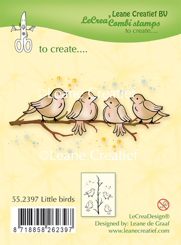 55.2397 Clear stamp Little Birds