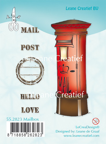 55.2823 Clear stamp Mailbox