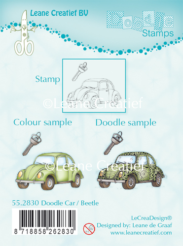 55.2830 Doodle clear stamp Car / Beetle