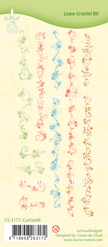 55.3172 Clear stamp Garlands