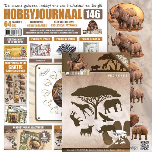 SETHJ146 Hobbyjournaal 146 - SET ADD10107