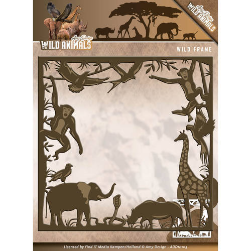 ADD10103 Die - Amy Design - Wild Animals - Wild frame