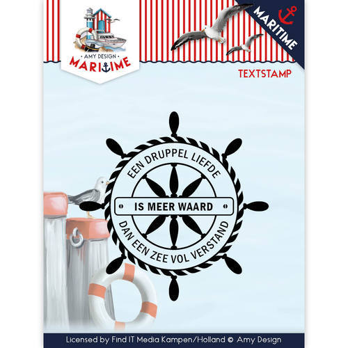 ADCS10015 Clearstamp - Amy Design - Maritiem