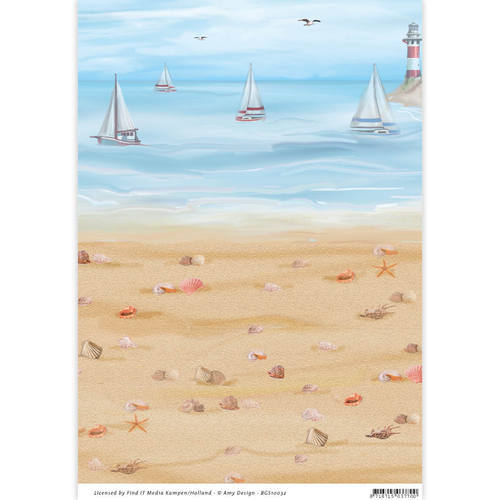BGS10032 Backgroundsheets - Amy Design - Maritiem