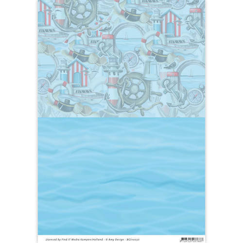 BGS10030 Backgroundsheets - Amy Design - Maritiem