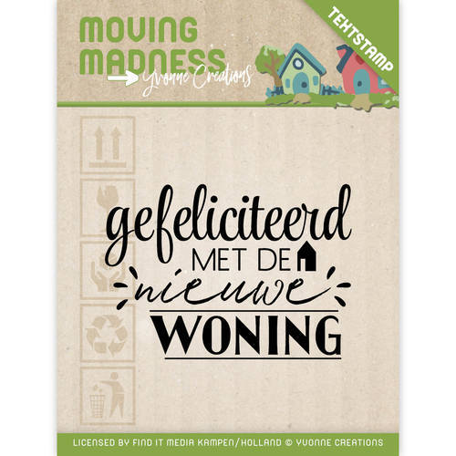 YCCS10032 Clearstamp - Yvonne Creations - Moving Madness
