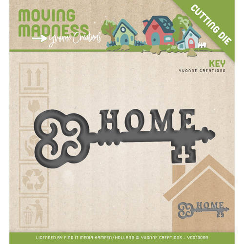 YCD10099 Die - Yvonne Creations - Moving Madness - Key