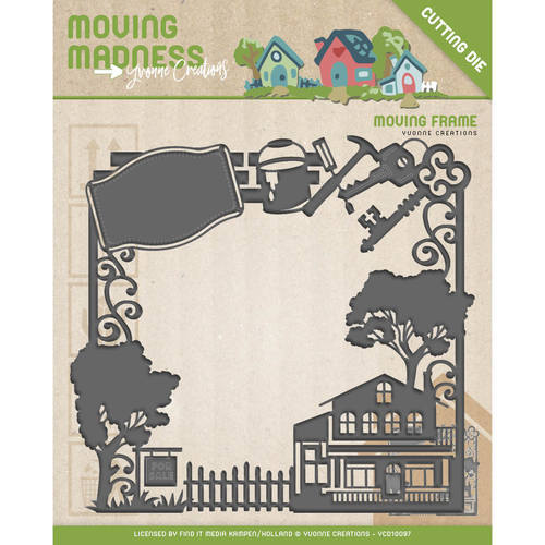 YCD10097 Die - Yvonne Creations - Moving Madness - Moving Frame