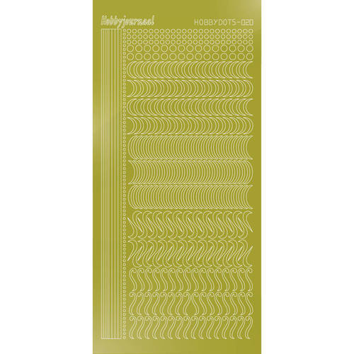 STDM20E Hobbydots sticker - Mirror Yellow