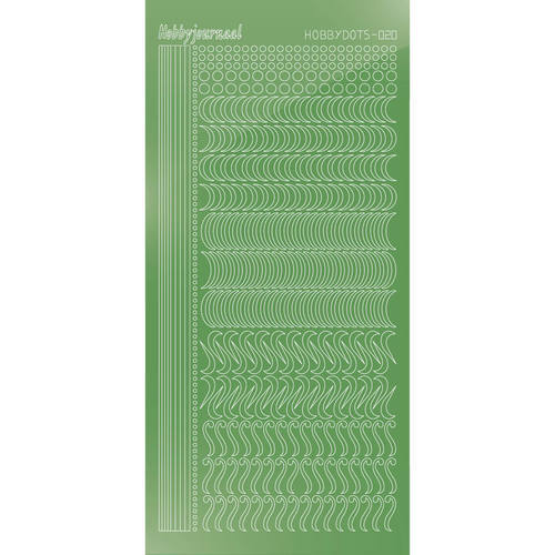 STDM20C Hobbydots sticker - Mirror Lime