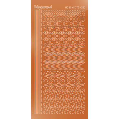 STDM20B Hobbydots sticker - Mirror Copper