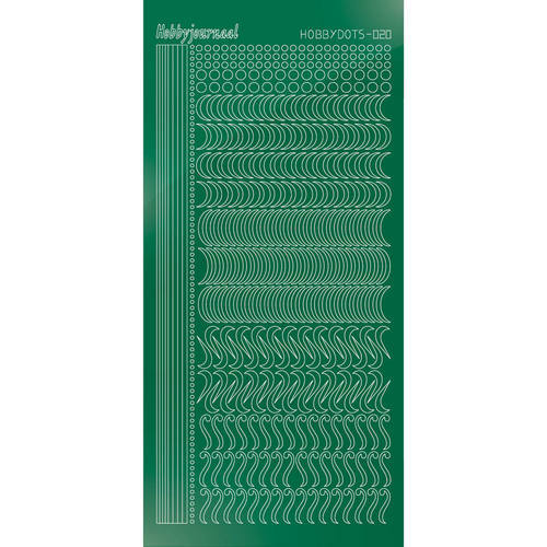 STDM202 Hobbydots sticker - Mirror Green