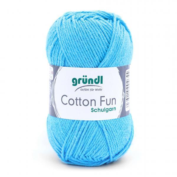 762-09 Cotton Fun 10x50 gram hemelsblauw