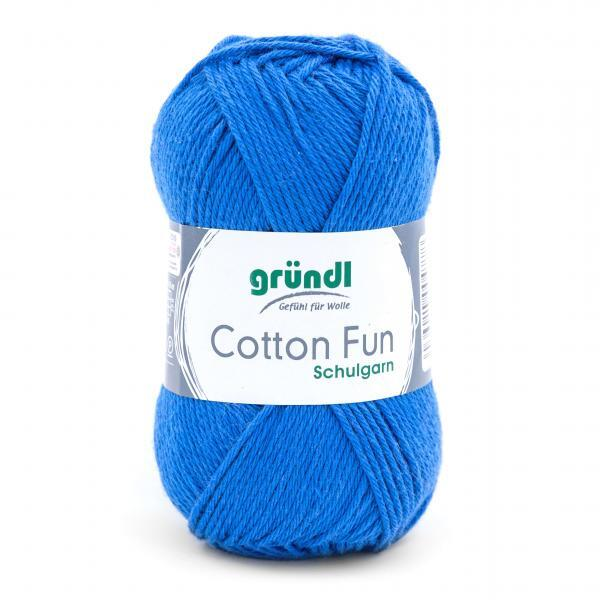 762-10 Cotton Fun 10x50 gram royalblauw