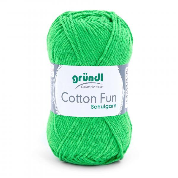 762-12 Cotton Fun 10x50 gram kikkergroen