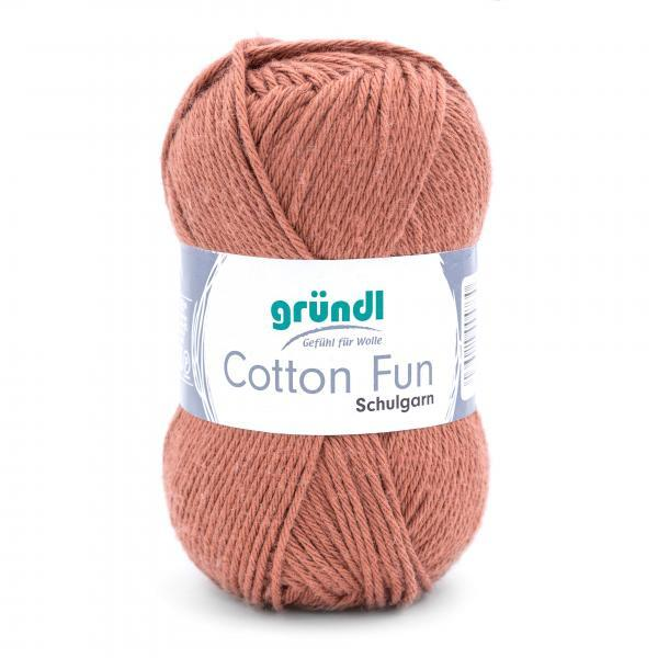 762-14 Cotton Fun 10x50 gram nougat