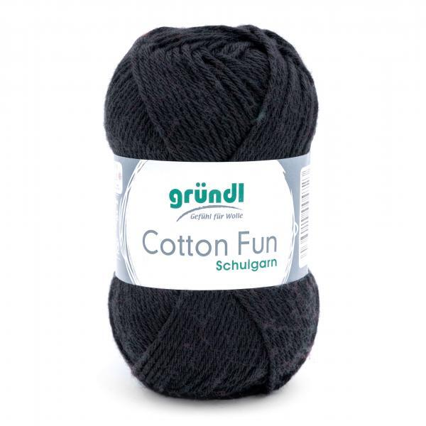 762-16 Cotton Fun 10x50 gram zwart