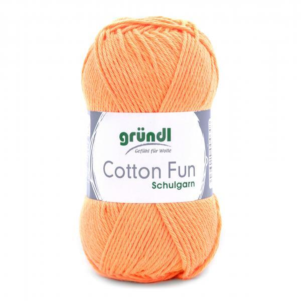 762-17 Cotton Fun 10x50 gram apricot