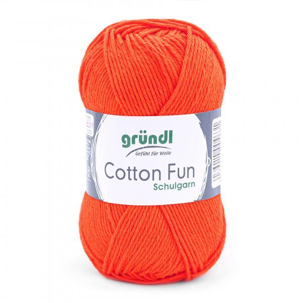 762-18 Cotton Fun 10x50 gram oranje