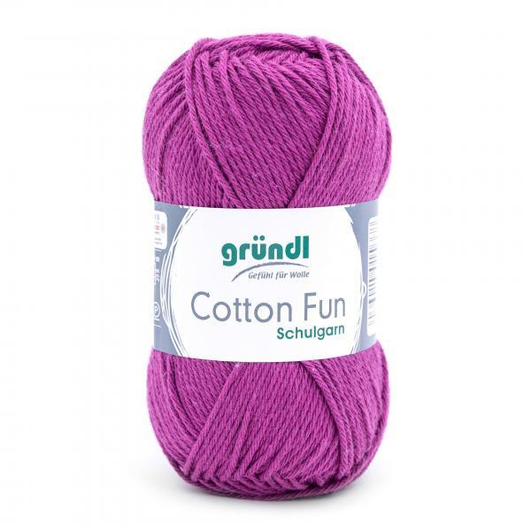 762-21 Cotton Fun 10x50 gram purper