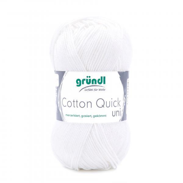 865-01 Cotton Quick Uni wit 10x50 gram