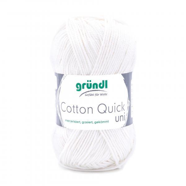 865-101 Cotton Quick Uni 10x50 gram gebroken wit