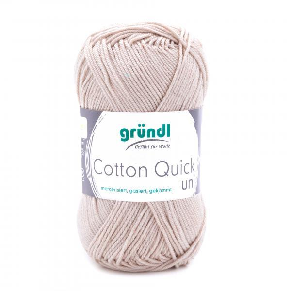 865-102 Cotton Quick Uni 10x50 gram ecru