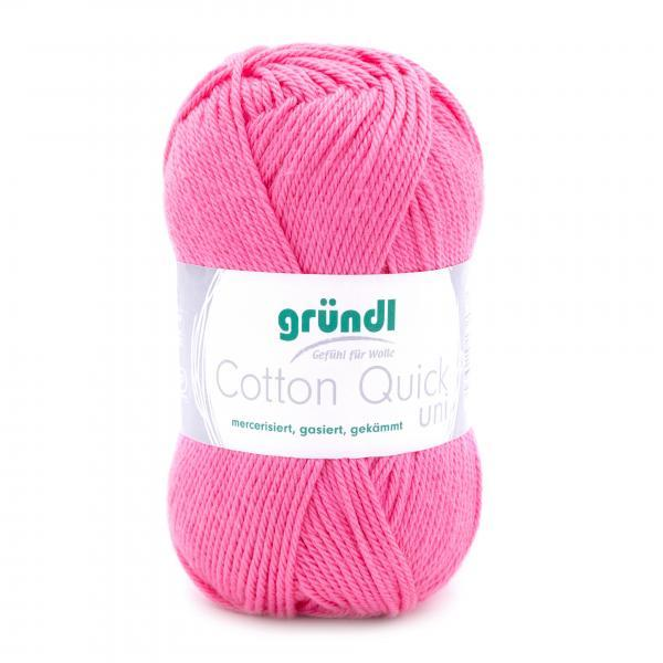 865-107 Cotton Quick Uni 10x50 gram roze