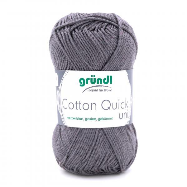 865-110 Cotton Quick Uni 10x50 gram antracietgrijs
