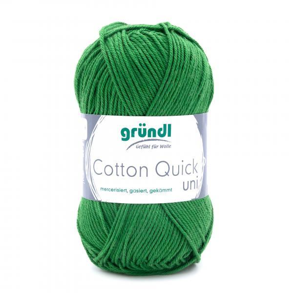 865-114 Cotton Quick Uni 10x50 gram donkergroen