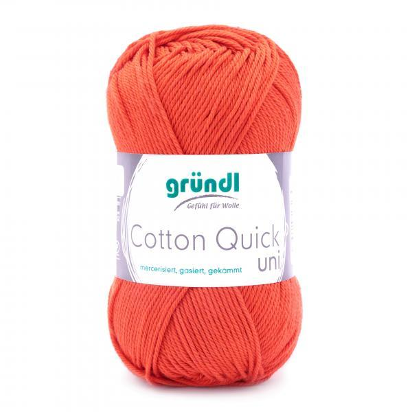 865-119 Cotton Quick Uni 10x50 gram oranje