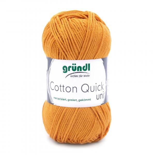 865-124 Cotton Quick Uni 10x50 gram okerbruin
