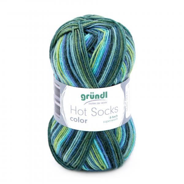 703-404 Hot Socks Color 10x50 gram aqua color