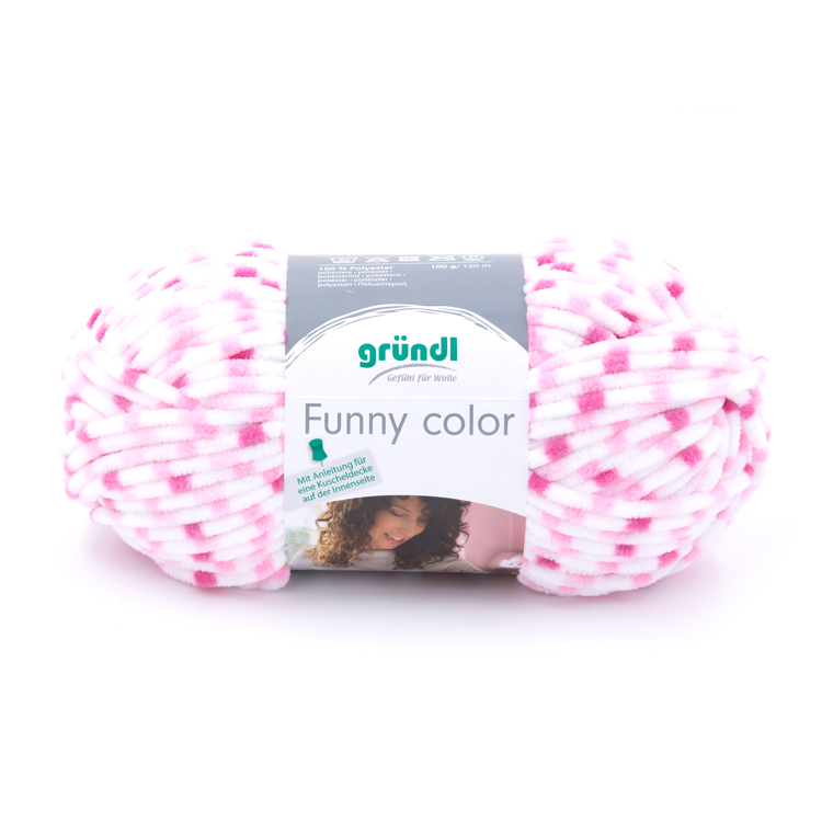 3525-02 Funny color 10x100 gram fuchsia/roze color