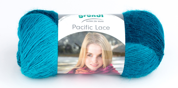 3506-01 Pacific Lace 5x100 gram ocean color