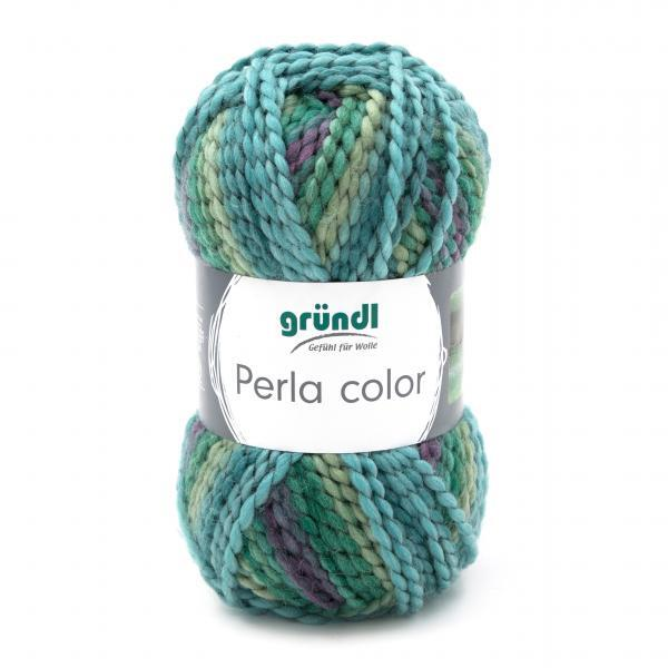 3354-14 Perla Color 10x100 gram petrol/lila mix