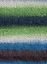 3354-24 Perla Color 10x100 gram blauw/groen mix