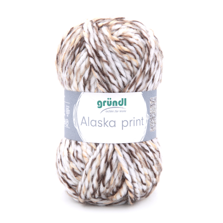 3422-01 Alaska Print 10x100 gram snow color