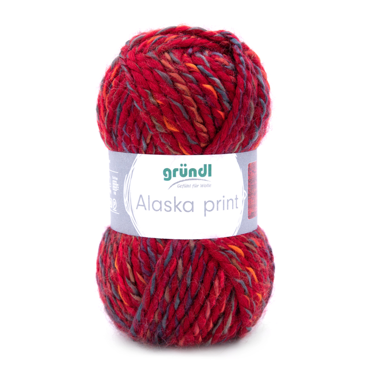 3422-04 Alaska Print 10x100 gram cherry color