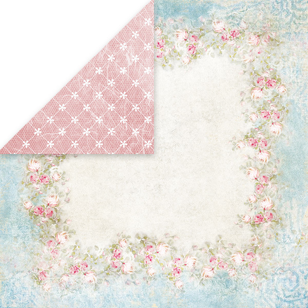 CP-BD03 BEAUTIFUL DAY Scrapbooking single paper 12x12(200gsm)