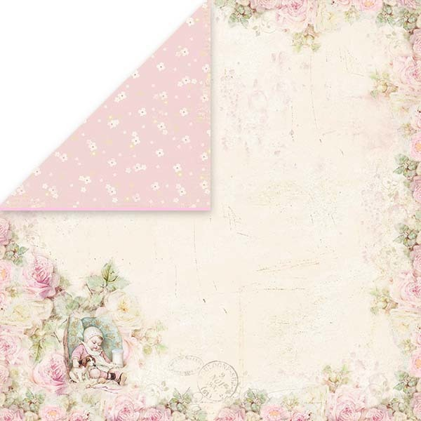 CP-NBB05 New Baby Born Scrapbooking single paper 12x12