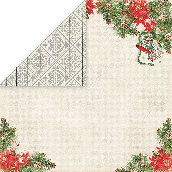 CP-NP04 NORTH POLE Scrapbooking single paper 12x12(200gsm)