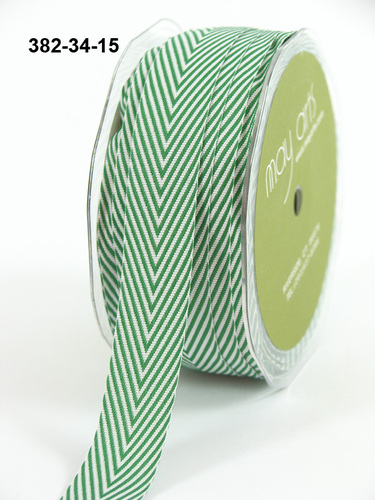 382-34-15 Twillipes 3/4-16mm rol 27,4mtr green