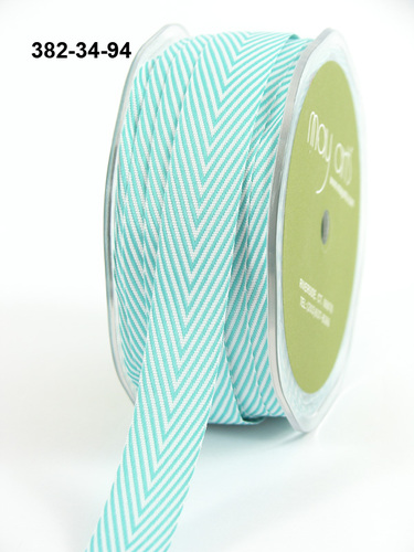 382-34-94 Twillipes 3/4-16mm rol 27,4mtr turquoise