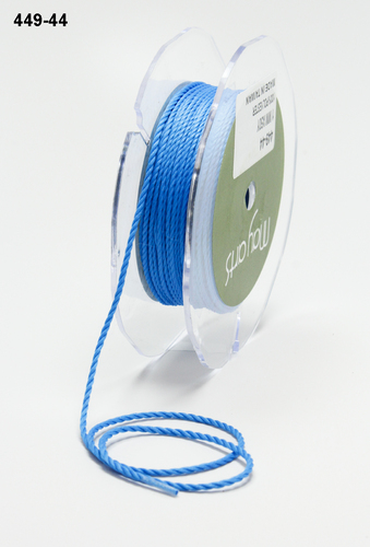 449-44 Mini Cording 1mm rol 45,8mtr french blue
