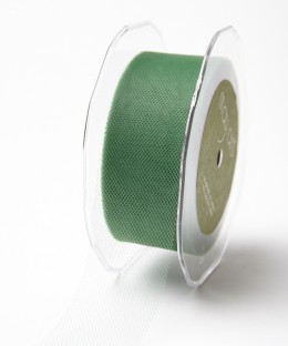 471-15-15 Tule 38mm rol 45,7mtr green